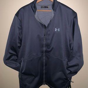 UNDER ARMOIR Infrared Jacket dark grey NWT SIZE XL